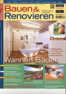 Bauen & Renovieren - Wannen inszeniert