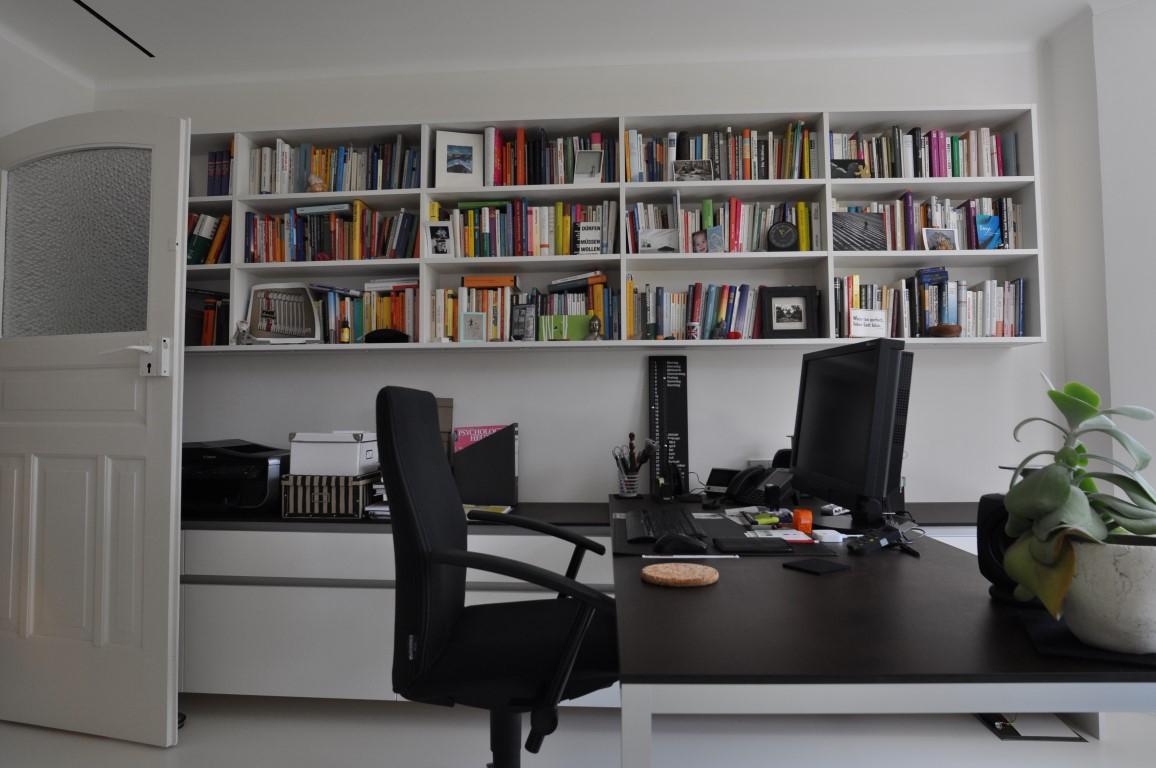 Bücherregal Mit Schreibtisch