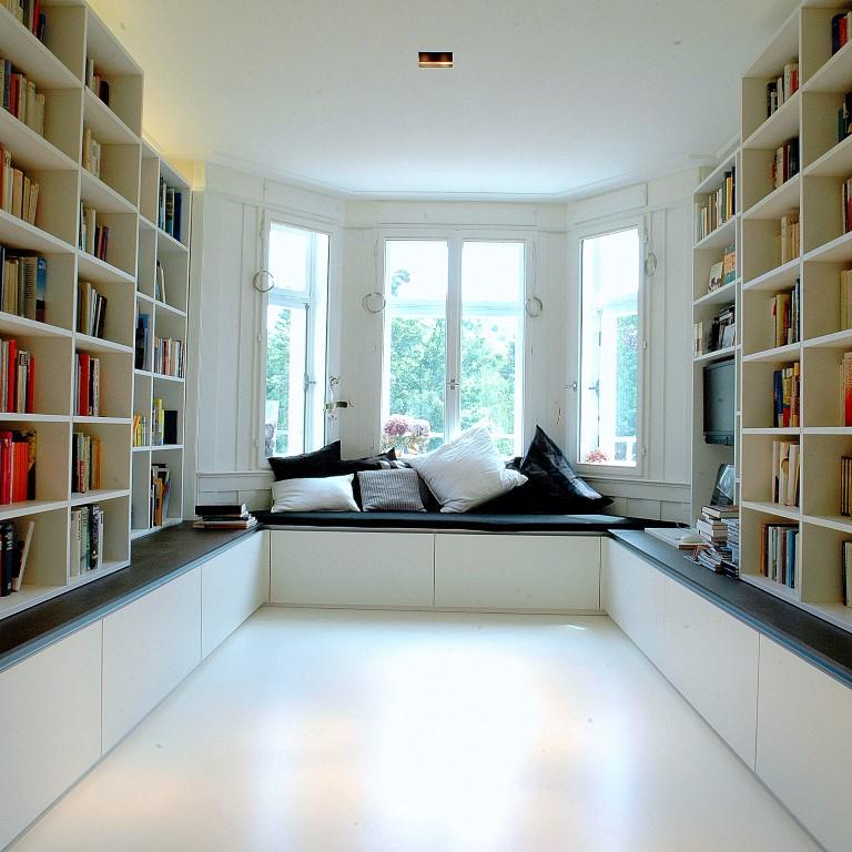 Zwinz Einrichtung Planung Bibliothek Regale Schubladenschränke ...