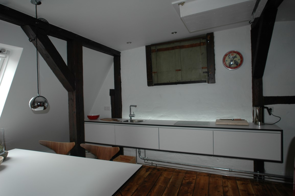 zwinz innenarchitektur dachausbau einrichtung küche sideboard ... - Sideboard Für Küche
