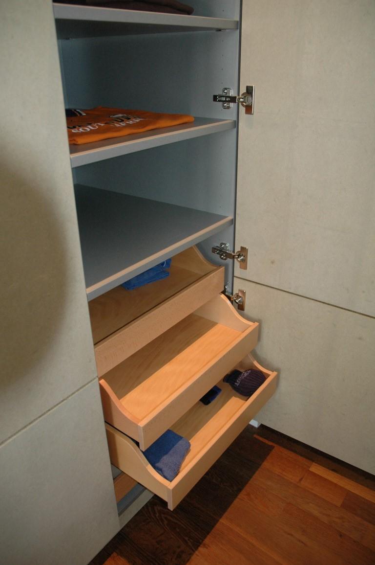 Zwinz Inneninrichtung Schlafzimmer Kleiderschrank Einbauschrank ...