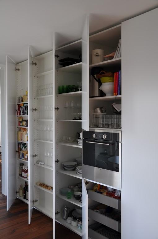 Zwinz Küche Lack Grifflos Hochschränke offen › Echt Zwinz