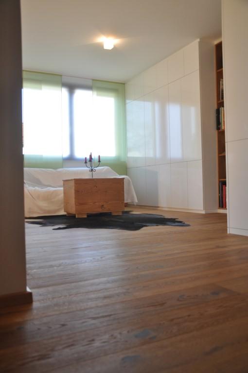 Zwinz Umbau Einrichtung Wohnzimmer Einbauschrank Hochglanz Weiss