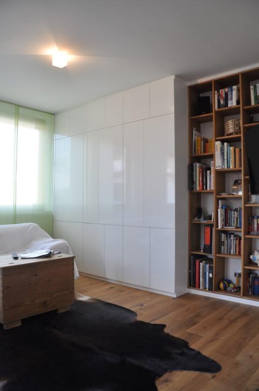 zwinz umbau einrichtung wohnzimmer regal einbauschrank hochglanz wei eiche massiv echt zwinz. Black Bedroom Furniture Sets. Home Design Ideas