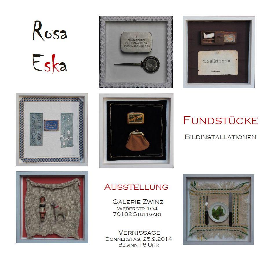 Rosa Eska Fundstücke
