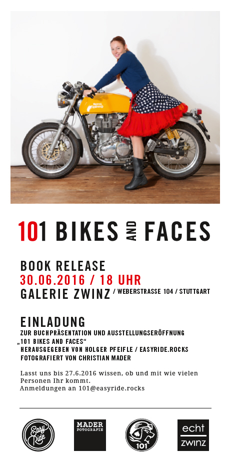 101 Bikes and Faces