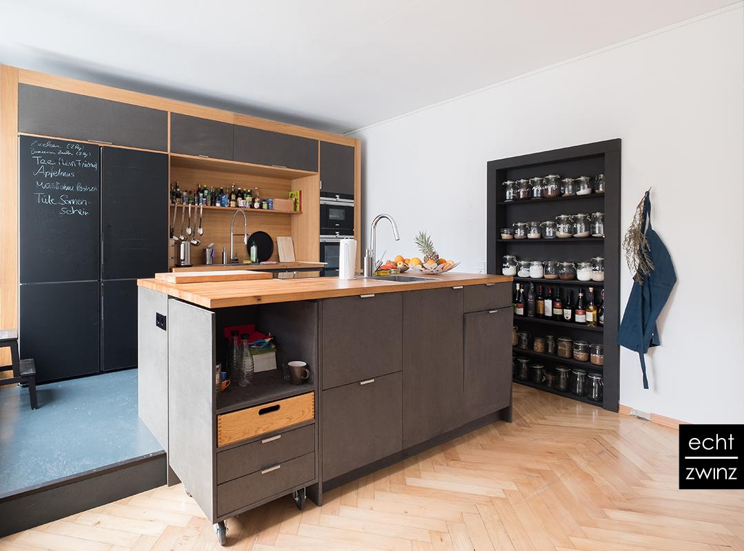 Einbau einer Teeküche für die Werbeagentur in Stuttgart-West