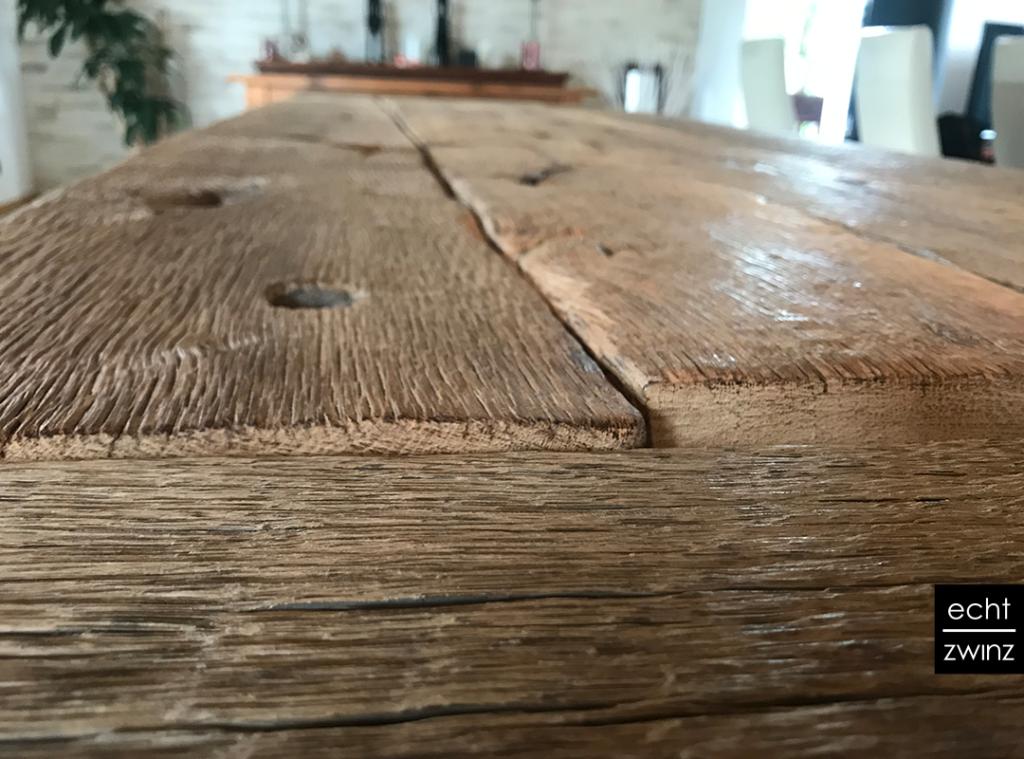 Altholz-Esstisch-Massivholztisch