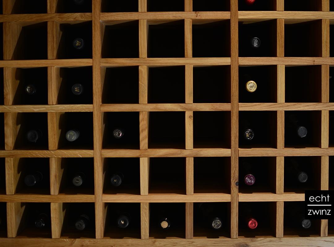 Im Weinregal ist die Rasterfahndung stets voller Vorfreude